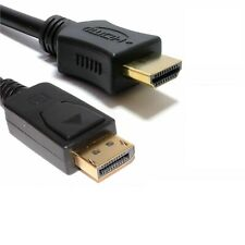 DP Displayport Male to HDMI Male Cable Converter Adapter for HP/DELL PC 1M - 5m