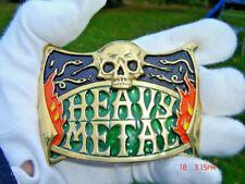 Heavy Metal Boucle de ceinture Iron Maiden Rock Band Motorhead