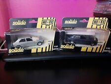 Solido Hi-Fi 1/43 Scale Mercedes 190 Metal Model Lot ×2