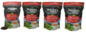 McEntee's Irish Loose Leaf Gold Blend Tea - 250g Refill Bag - ( Pack of 4 )