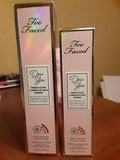 Too Faced Dew You Fresh Glow Luminous Face Primer Pick Color & Size New in Boxes
