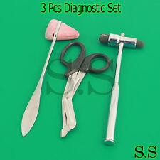 3 Pcs Set Diagnostic Emt Nursing Surigcal Ems Supplies Ss 637
