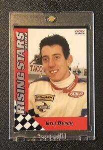 🏁 KYLE BUSCH (XRC) 2002 Choice 1st ROOKIE CARD - ASA Racing *Pre NASCAR #18