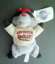 New Britain ROCK CATS Minor League BASEBALL Defunct Team Mascot ROCKY PLUSH  VG