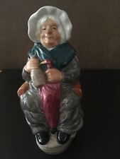 Franklin Mint/Wood &Sons - Dickens Toby Jug Collection - Mrs Gamp