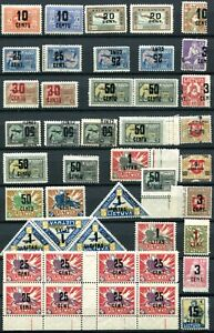 Litauen Briefmarken Lot Zeitraum 1921-1922