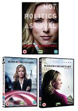 MADAM SECRETARY 1+2+3 2014-2017: Political Drama TV Season Series UK DVD not US