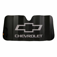 NEW CHEVY MATTED BLACK SUNSHADE
