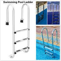 New Premium Above Ground Stainless Steel Swimming Pool