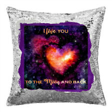 Bedroom Moon & Stars Personalised Decorative Cushions & Pillows