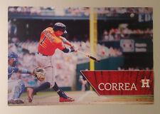 "Carlos Correa FATHEAD Official Player Action Mural 18""x12"" Astros MLB Graphics"