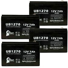 4x 12V 7Ah Sealed Lead Acid Battery For Sonnenschein PRM450A UB1270