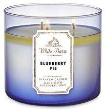 Bath & Body Works / White Barn Blueberry Pie 3-Wick Candle
