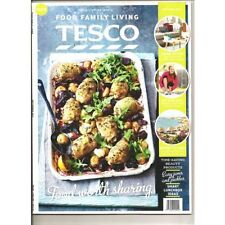 Tesco Food family Living September 2015 magazine recipes