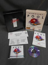 Vintage Celeris Interplay 3D Pool Simulator CD ROM For DOS Computer Video Game