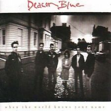 Deacon Blue - When The World Knows Your Name - 1989 CD Album