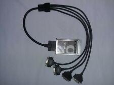 Socket Quad Serial I/O Pc Card