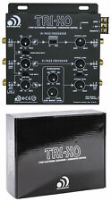 Massive Audio Tri-Xo 3-Way Active Electronic Crossover w/ Subwoofer Control