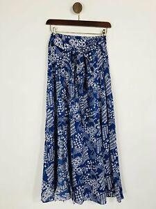 & Other Stories Women's Slit Maxi Skirt   EU38 UK10   Blue