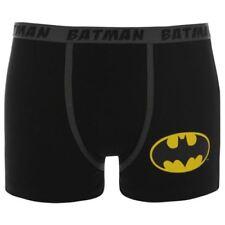 batman boys boxer shorts pants age 7 8 size small underwear dc comics black new