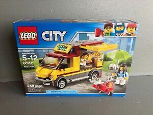 Lego City Pizza Van set 60150 Food Truck