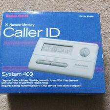 Radio Shack Caller ID System 400 99-Number Memory in Original Packaging