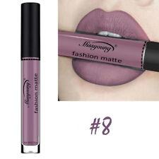 1PCS Sexy Cosmetics Matte Effect Liquid Nude Lipstick Long Lasting Lip Gloss