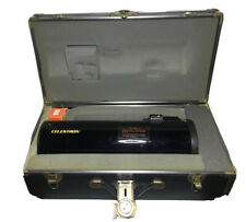 Vintage Celestron Comet Chaser Telescope With Eyepiece And Case
