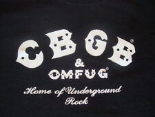 CBGB C.B.G.B. PUNK ROCK ramones blondie talking heads richard hell T Shirt L