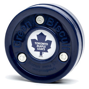 Green Biscuit NHL Toronto Maple Leafs Puck