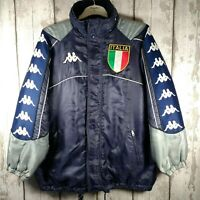 RARE Vintage Retro KAPPA Jacket Gara Official Italia 90s Quilted Size M