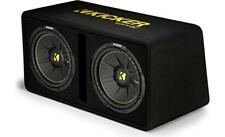"KICKER DCWC122  DUAL 12"" COMP C VENTED LOADED BOX"