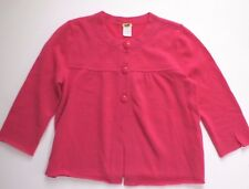J CREW Italian 100% Cashmere Lily Cardigan Sweater S Small Pink