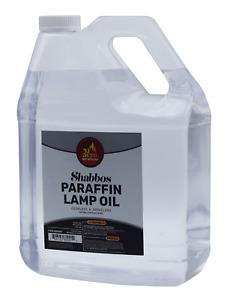 Paraffin Lamp Oil 1 Gallon (Smokeless Odorless Liquid Paraffin) Clean Fuel