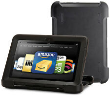 "OtterBox Defender Hard-Shell Case w Stand for Kindle Fire HD 1st Gen 8.9"" BLACK"
