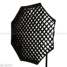 120cm Octagon/Octagonal Softbox 5cm Honeycomb Grid Octabox Elinchrom Fitting