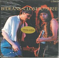 BODEANS Closer to Free 2TRX w/ RARE LIVE TRK USA Limited CD single SEALED 1996