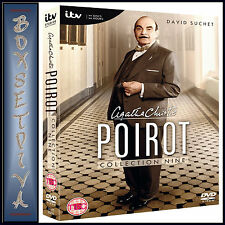 AGATHA CHRISTIE POIROT - COMPLETE COLLECTION 9  **BRAND NEW DVD **