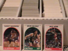 1989 Hoops Basketball pick 40 complete your set ex-nm