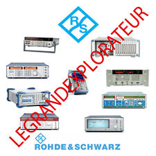 Ultimate Rohde Amp Schwarz Operation Repair Service Manual Amp Schematics 530 On Dvd