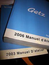 Hyundai GETZ 2003 à 2006... : MANUEL D'ATELIER