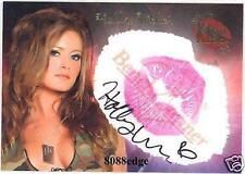 2006 BENCHWARMER AUTOGRAPH AUTO KISS #5: HOLLY WEBER