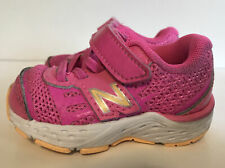New Balance 680v5 TechRide Pink Running Shoes Stretch Lace Sneakers Toddler 2