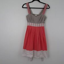 Silence Noise Multi Color Sleeveless Dress Size M
