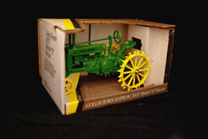 New John Deere Toy 1937 Model G Tractor Collector's Edition Ert # 548