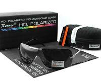 Rennec Herren Sonnenbrille Polarisiert Pilotenbrille UV400 Schwarz Fliegerbrille