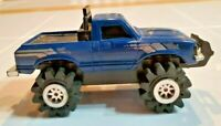 Vintage Schaper Stomper 4x4 Toyota SR5 Blue Grey Stripe Light Works Runs Strong