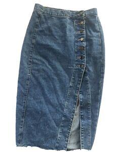 Sheike Denim Skirt