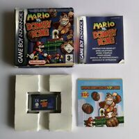 Nintendo Mario vs Donkey Kong Game Boy Advance GBA Game PAL Boxed and Complete