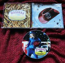 Madonna MUSIC Cowboy PICTURE DISC SILVER PRESSED CD SET Mixes Bonus Impressive